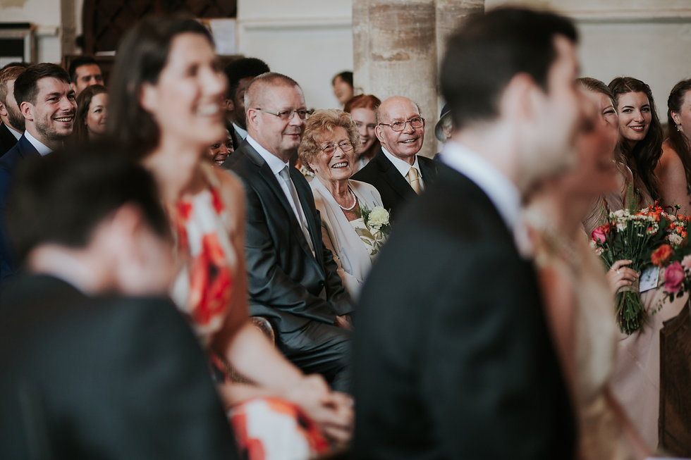 St Mary's Church Wedding, Wootton captured by Grace Pham Photography 08