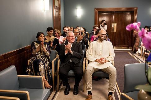 Hackney Town Hall Wedding Photographer-6