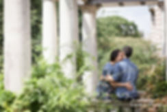 Hampstead Pergola & Hill Gardens Engagement Shoot captured by Grace Pham London Wedding Photographer 07
