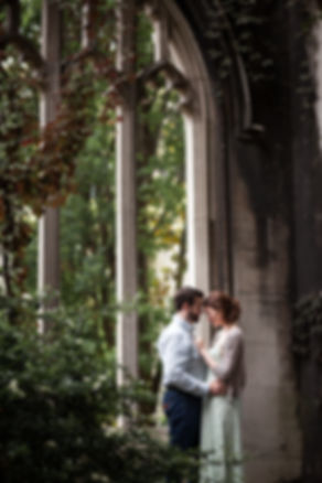 Engagement Photography Saint Dunstan in the East by Grace Pham 03