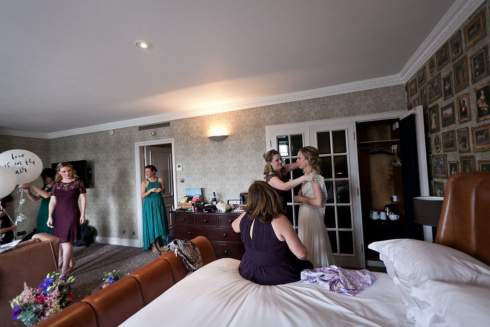 Meaghan Martin's Wedding at Cannizaro House, Wimbledon captured by London Wedding Photographer