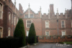 Hampton Court Palace Wedding Venue in Winter by Surrey Wedding Photographer 03