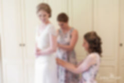 Bridal preparation at The Limes, Broombarn Lane, HP16 9PF by  Buckinghamshire Wedding Photography  01