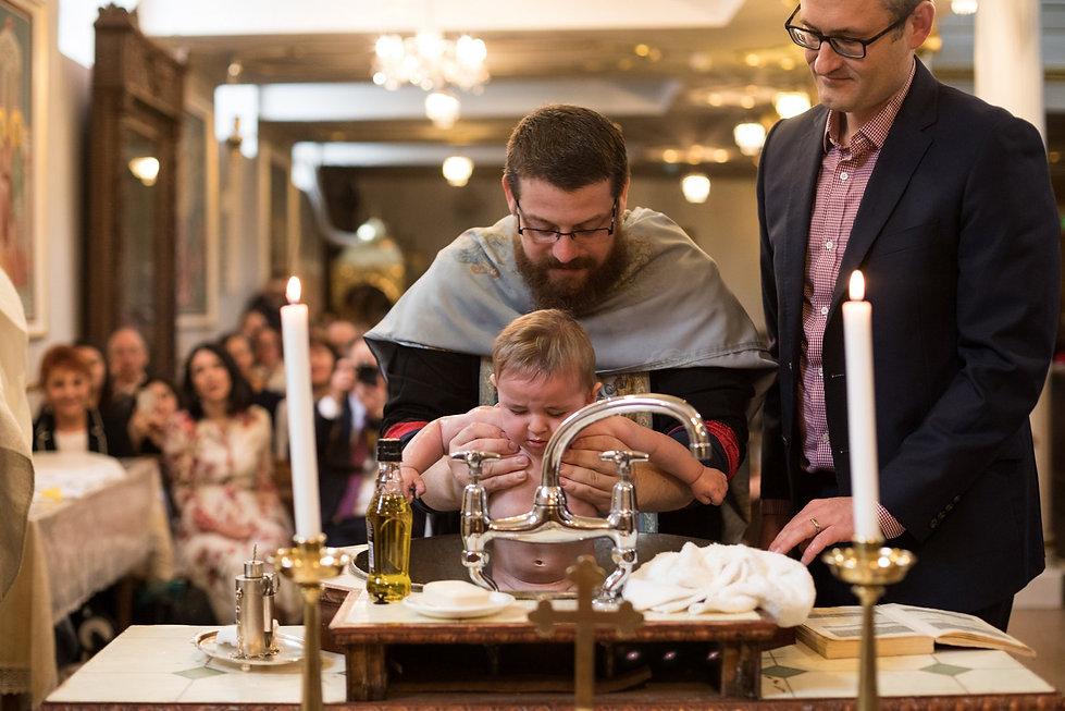 All Saints Greek Orthodox Church Christening Photography, London 03
