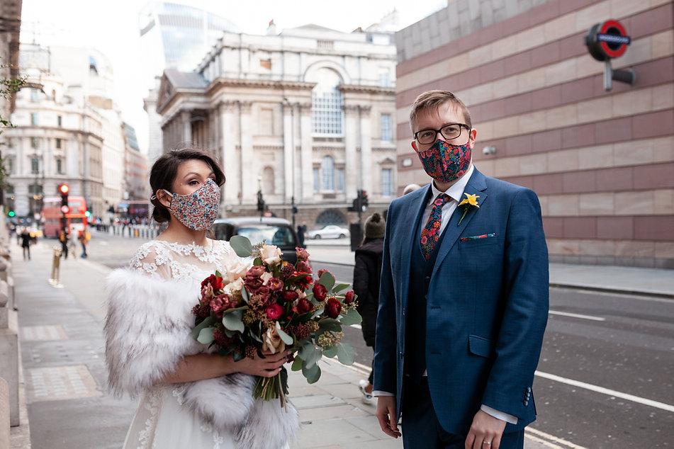 Covid Wedding, London captured by Grace Pham Photography 01