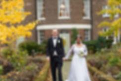 Autumn wedding at Morden Park House, Merton Register Office