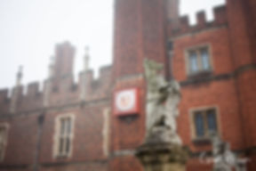 Hampton Court Palace Wedding Venue in Winter by Surrey Wedding Photographer 06
