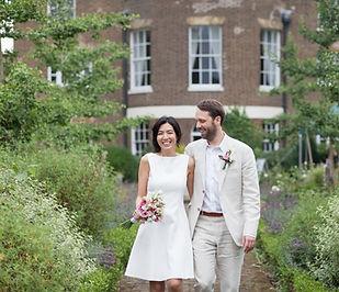 Merton Register Office Wedding, Martina & Ashley captured by Grace Pham Photography