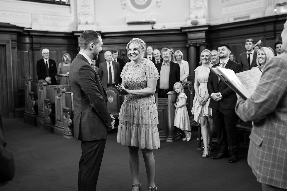 Islington Town Hall Wedding Photography, Tom & Sophie 2