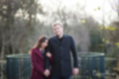 Hampstead Pergola & Hill Gardens Winter Engagement Shoot captured by Grace Pham London Wedding Photographer 02