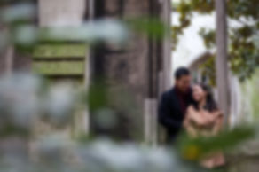 Engagement Photography Saint Dunstan in the East Church Garden 02
