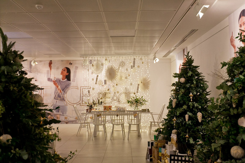 Christmas Press Event for Space NK
