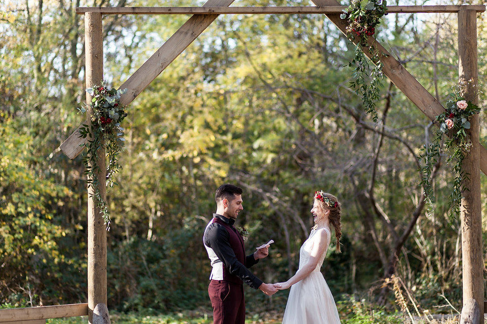 Boho Autumn elopement styled shoot, tower hamlets cemetery, east London wedding, Grace Pham photography 09