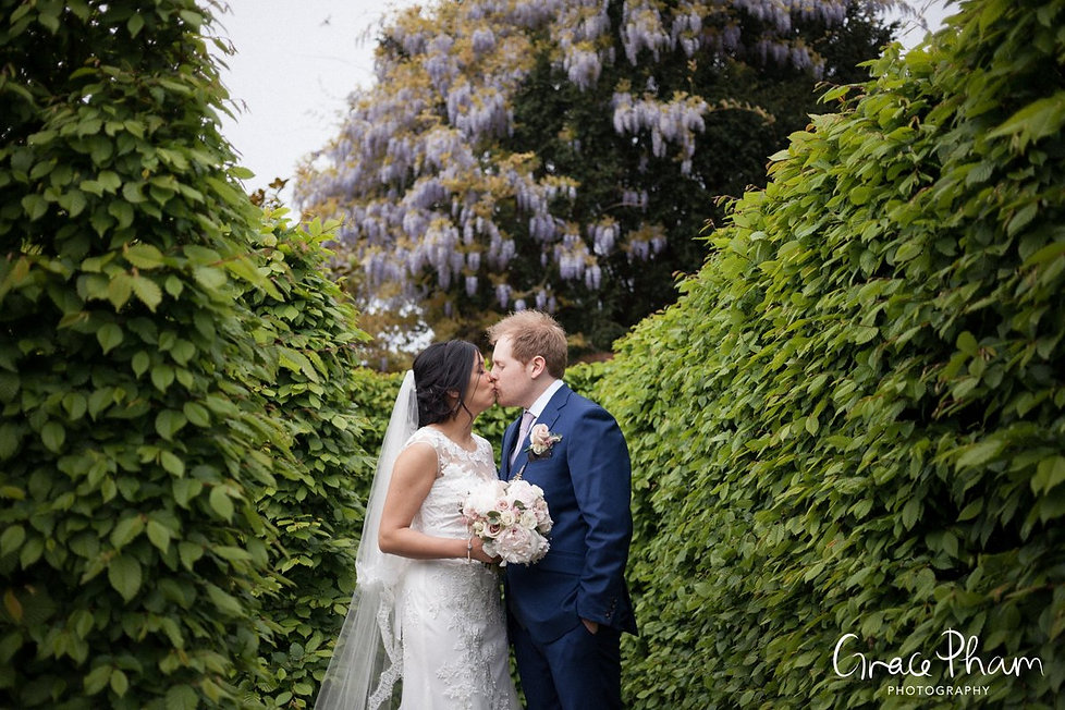 Ditton Park Manor Wedding in the maze by Grace Pham Photography 300