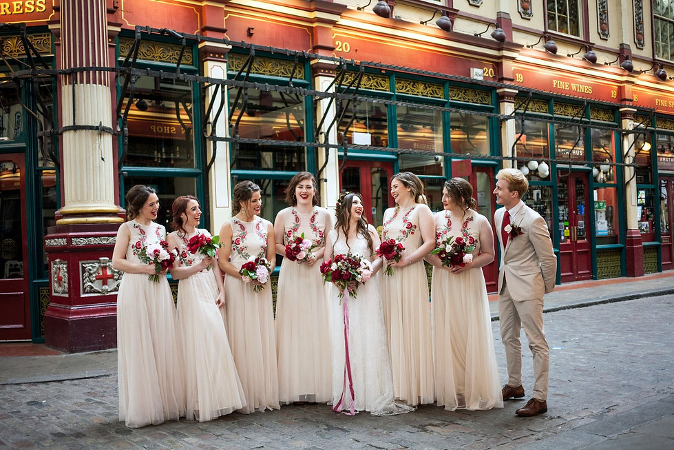 The Lamb Tavern Leadenhall Market Wedding captured by Grace Pham Photography May 2018 4
