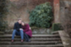 Hampstead Pergola & Hill Gardens Winter Engagement Shoot captured by Grace Pham London Wedding Photographer 08
