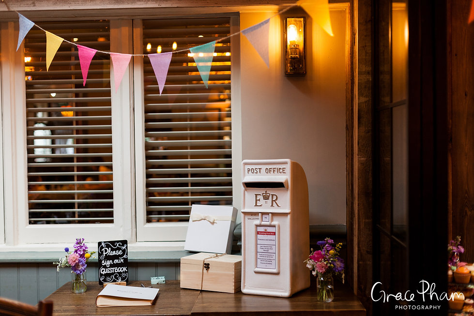 The Country Arms Pub Wedding, London, captured by Grace Pham Photography 01