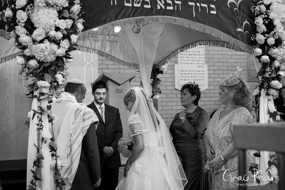 Jewish Wedding Photographer London 08