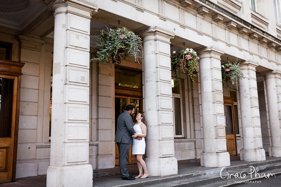 Queen Mary University of London (QMUL) Wedding, Mile End, captured by Grace Pham Photography 1
