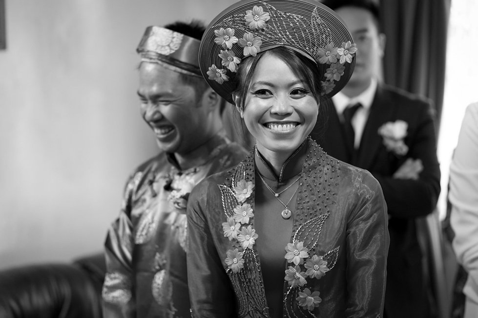 Vietnamese Chinese Wedding Photographer - Tea ceremony 01