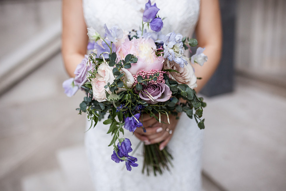 Wedding bouquet captured by Grace Pham Photography