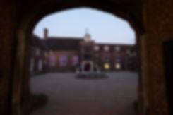 Fulham palace wedding at dusk captured by London wedding photographer.