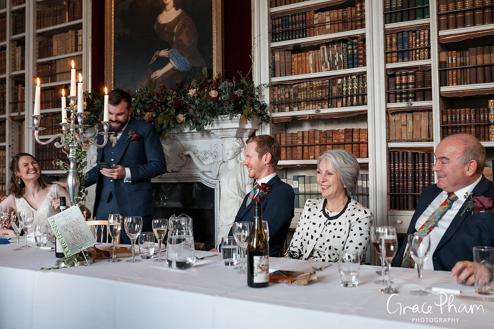 St Giles House Wedding Reception, captured by Grace Pham Photography 01
