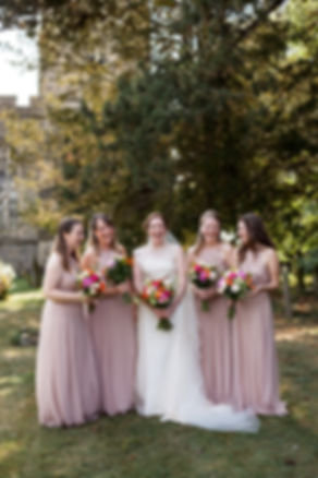 St.Mary's Wootton Church wedding in Bedford captured by Grace Pham Photography 1