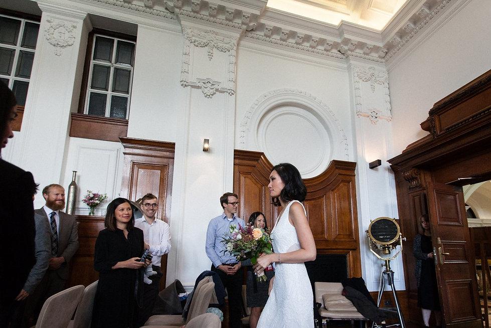 De Montfort Suite Wedding captured by Mike Redman.