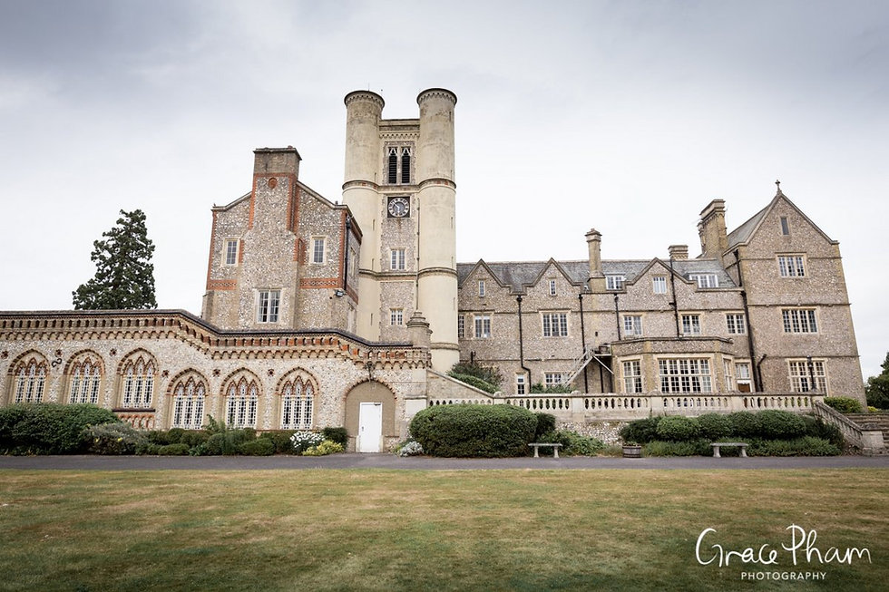 Horsley Towers Wedding, De Vere Horsley Estate, Surrey captured by Grace Pham Photography 10