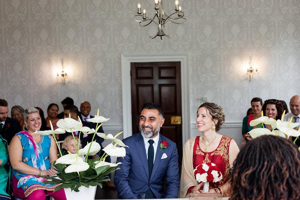 Morden Park House, Sheridan Room, Merton Reigster Office Wedding, by Grace Pham Photography Aug 2018 07