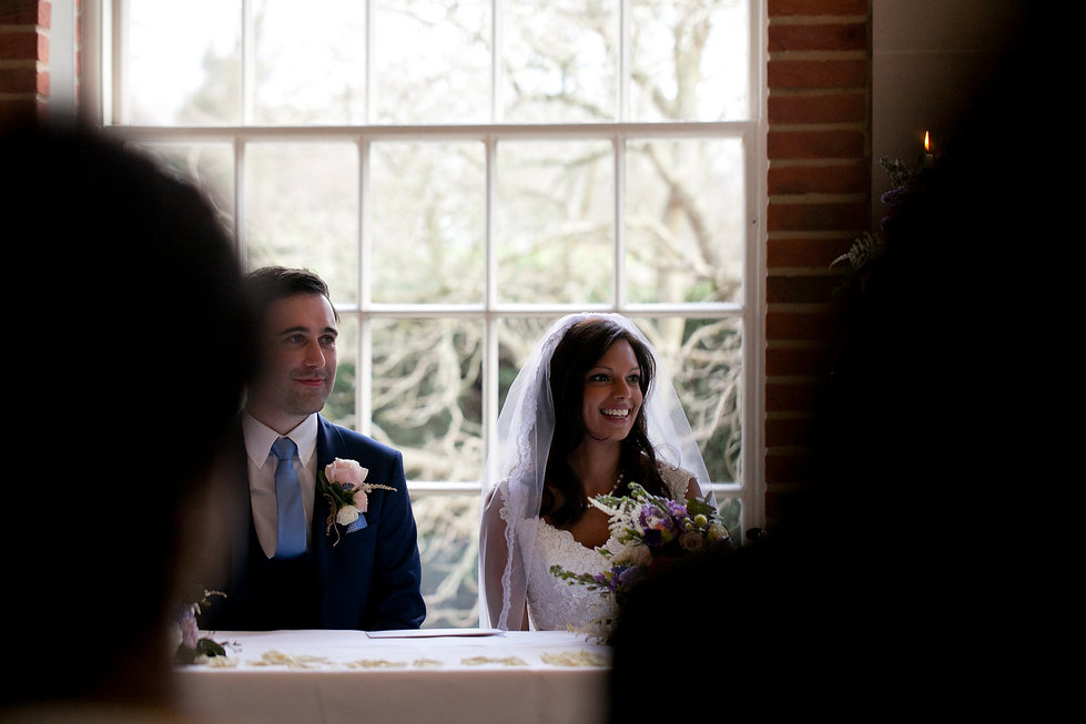 Great Fosters Wedding captured by Grace Pham Wedding Photographer.