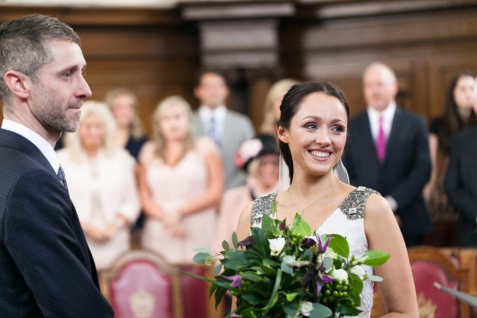 Islington Town Hall wedding by London Wedding Photographer