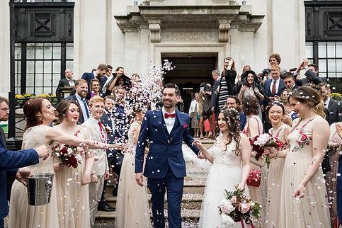 Islington Town Hall Wedding Photography, London, B&E