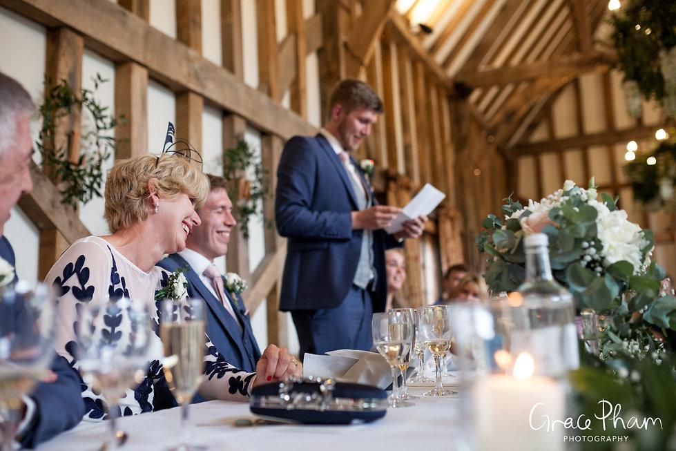 Gate Street Barn Wedding Venue captured by Grace Pham Photography 21