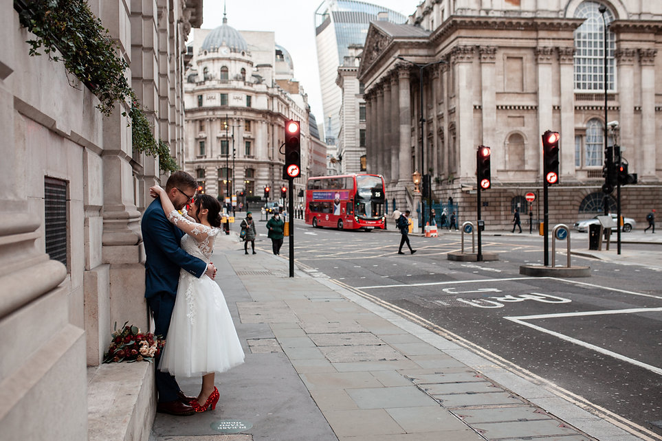 Covid Wedding, London captured by Grace Pham Photography 04