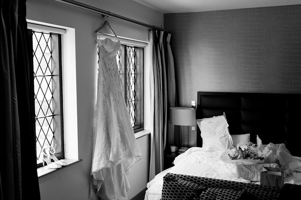 Great Fosters Wedding, Surrey Wedding Venue, Surrey Wedding Photographer, Wedding Dress