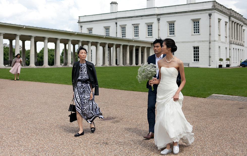 Greenwich Wedding, London by Grace Pham Wedding Photography 01