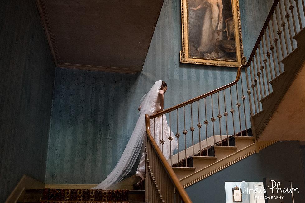 Beautiful St Giles House Wedding, Dorset, captured by Grace Pham Photography 01