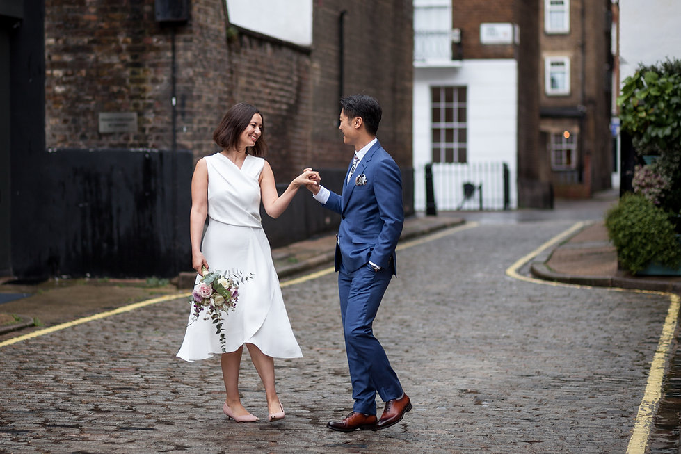 Old Marylebone Town Hall Wedding, London, captured by Grace Pham Photography, Aug 2019 5