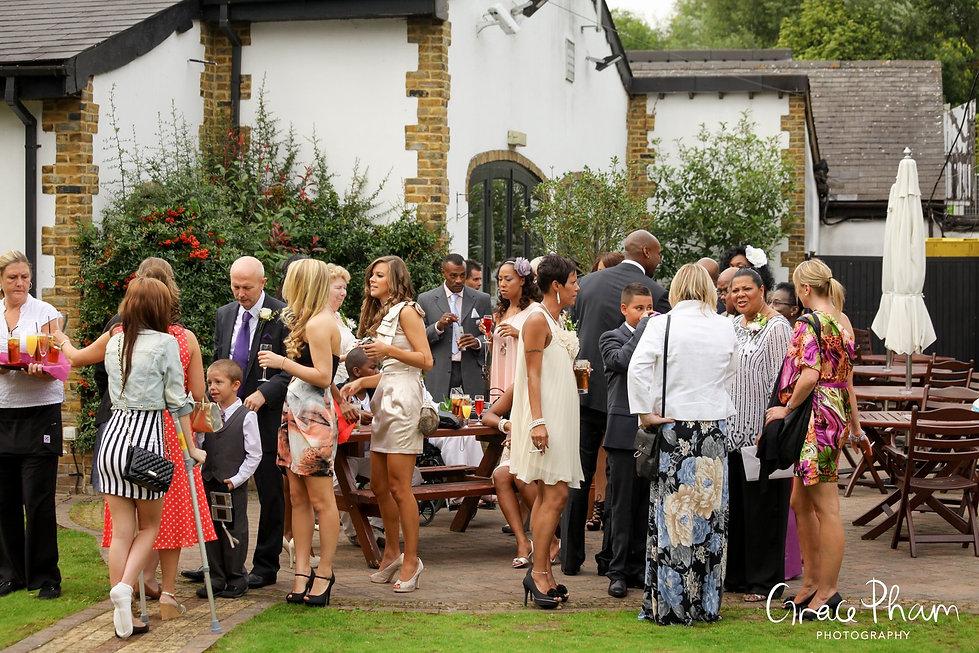 Q Vardis at the Mallard Suite by London Wedding Photographer 07