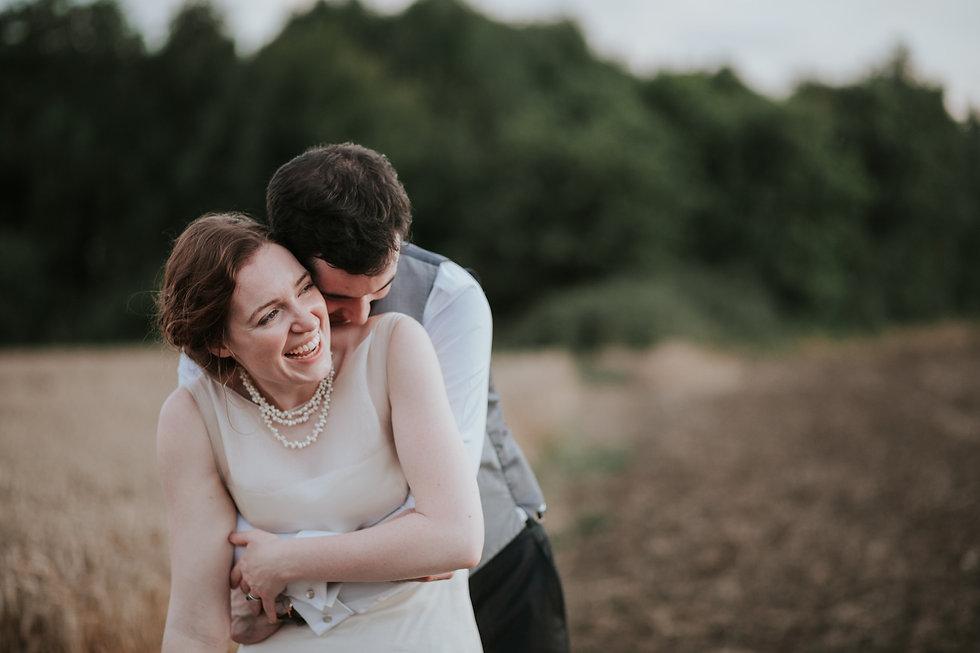 Countryside Family Farm Wedding, couple portraits, wheatfields, by Grace Pham Photography 05