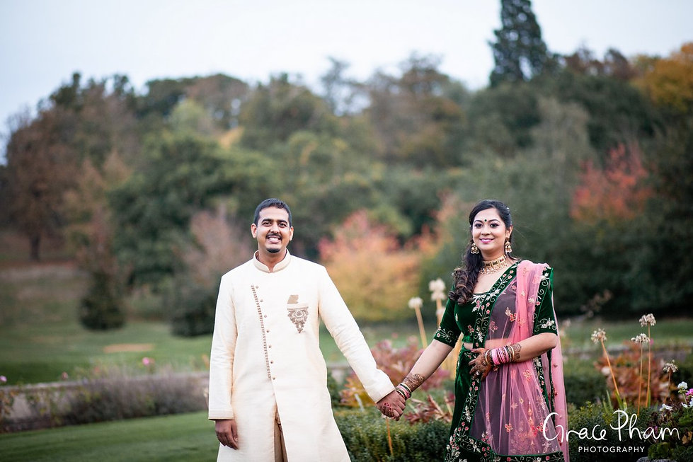 Moor Park Golf Club Mansion Indian Wedding, captured by Grace Pham Photography 24