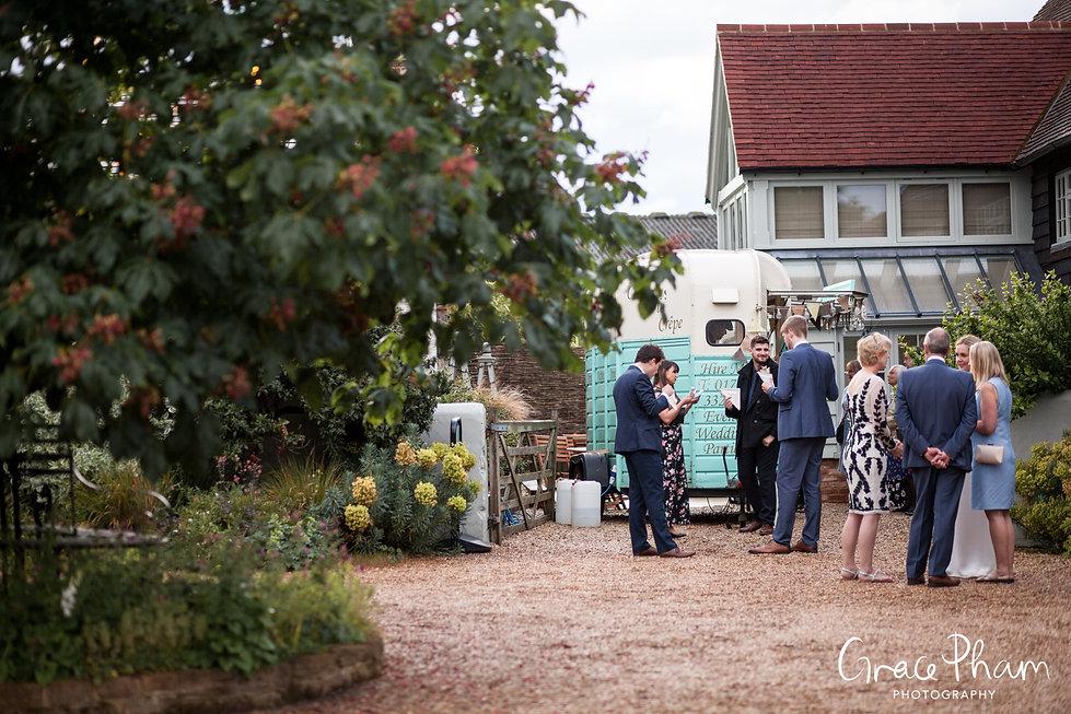 Gate Street Barn Wedding Venue captured by Grace Pham Photography