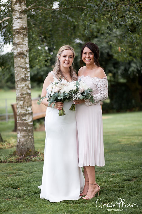 Gate Street Barn Wedding, Bridal Party, captured by Grace Pham Photography 3