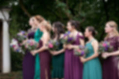 Meaghan Martin & Oli Higginson's Wedding at Cannizaro House, Wimbledon captured by London Wedding Photographer. Bridesmaids.