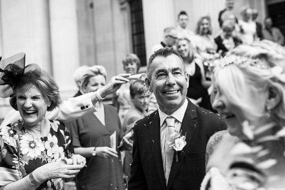 The Old Marylebone Town Hall Wedding Photography, London, Punk Bride 4