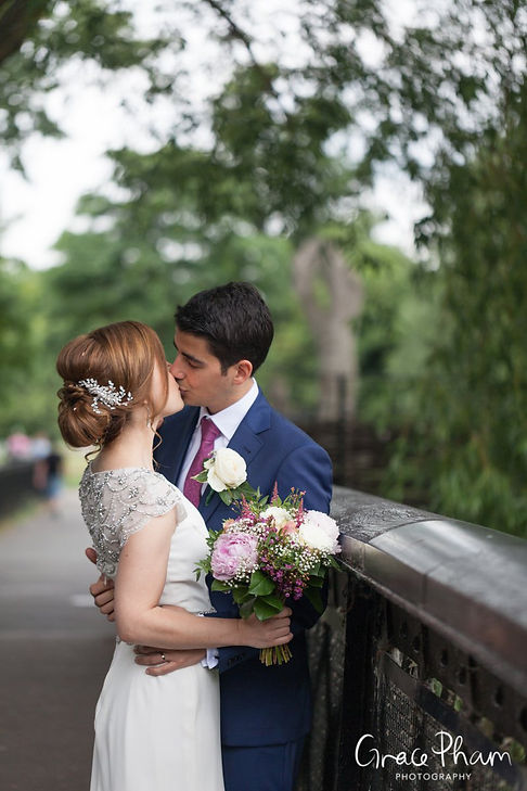 Clissold House & Park Wedding Photography 05