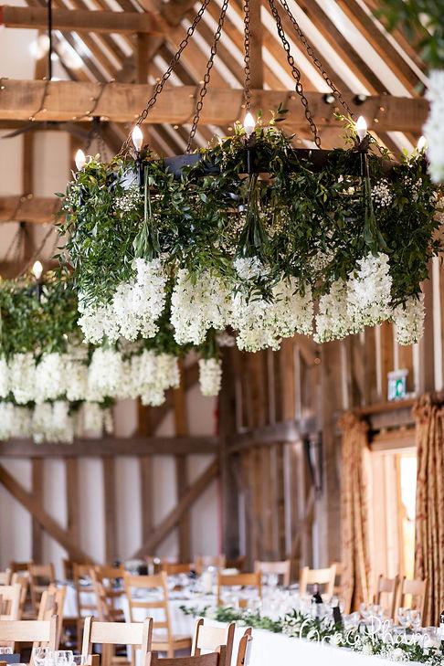 Gate Street Barn Wedding, Reception room, captured by Grace Pham Photography 04