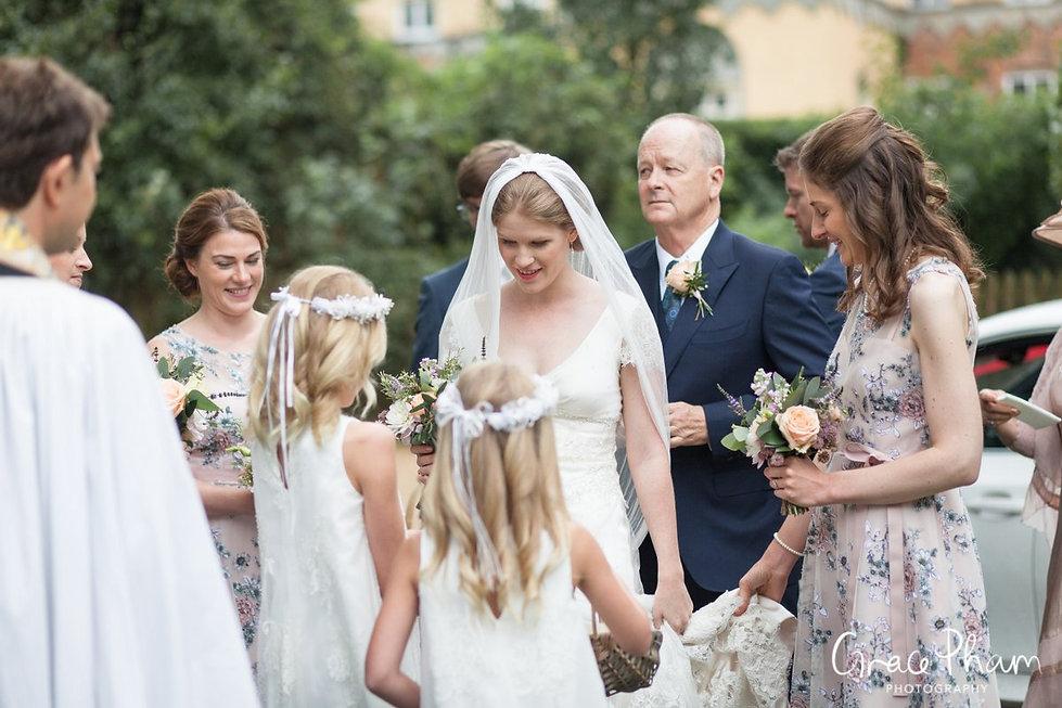St Mary Magdalene Church Wedding, Great Hampden, Great Missenden by  Buckinghamshire Wedding Photographer  05